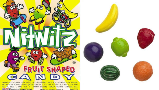 Nitwitz Fruit Shapes